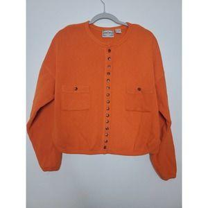 Vintage Equipe Cropped Sweater/Cardigan